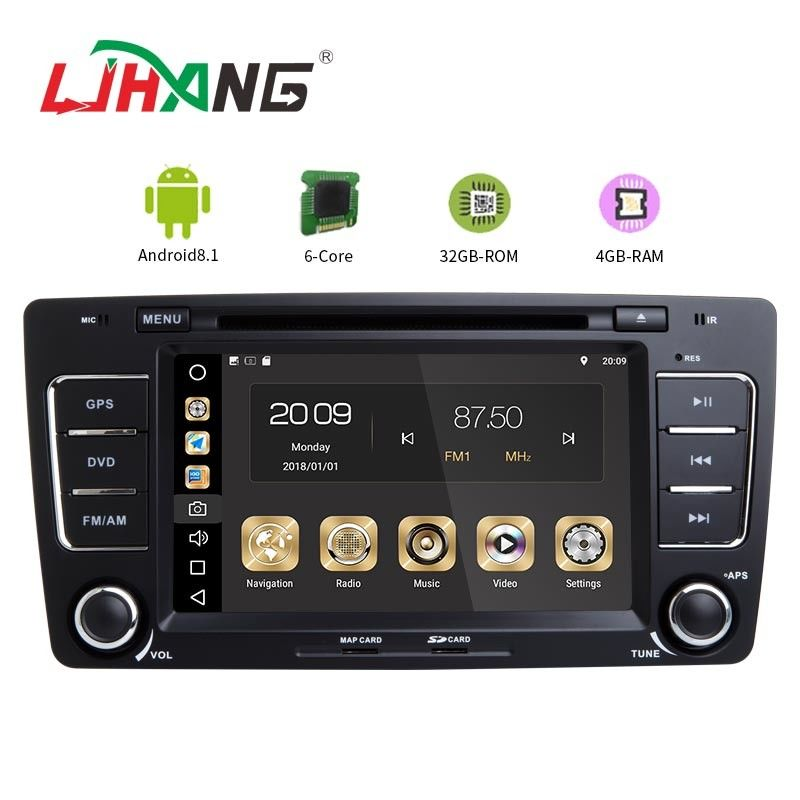 7 Inch Touch Screen Volkswagen DVD Player AM FM Radio And GPS Navigation